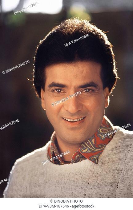 1990, Portrait of Indian film actor Jitendra