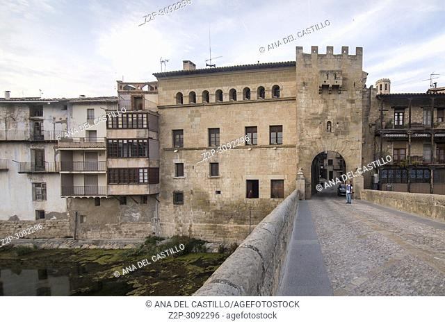 Valderrobres is one of the most beautiful villages in Spain Teruel Aragon Spain Matarrana county