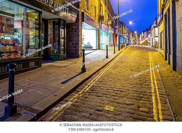 Skipton, a market town and civil parish in the Craven district of North Yorkshire, England, United Kingdom, Europe