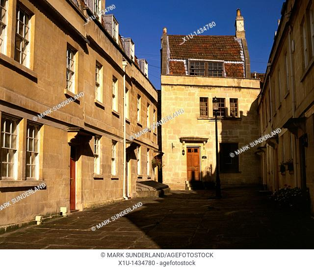 St Anns Place, Bath, Somerset, England