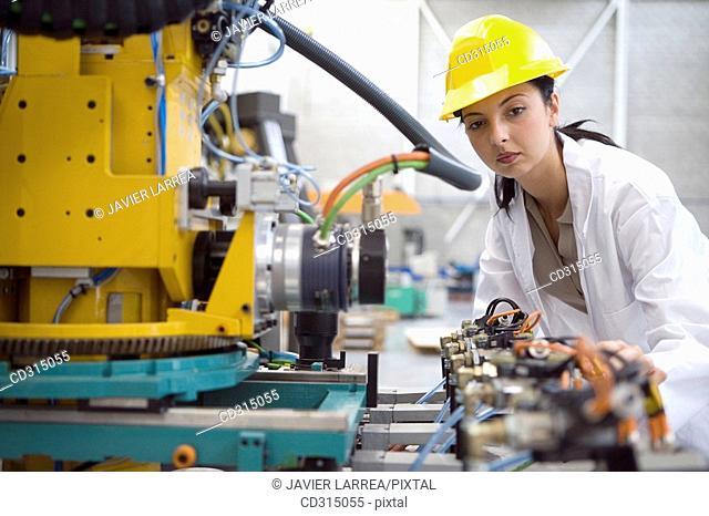 Fatronik Research Centre, San Sebastian Technological Park, Donostia, Gipuzkoa, Basque Country. Advanced industrial robotic system