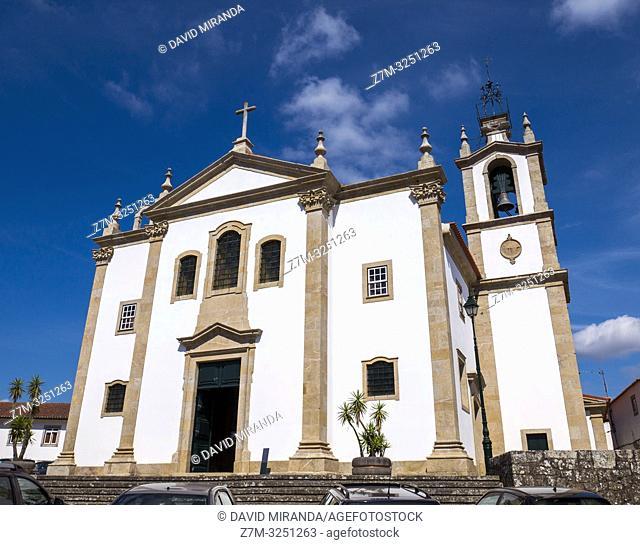 Iglesia. Valença do Minho. Portugal