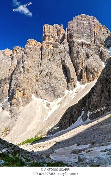 Dolomiti - Piz da Lech mount