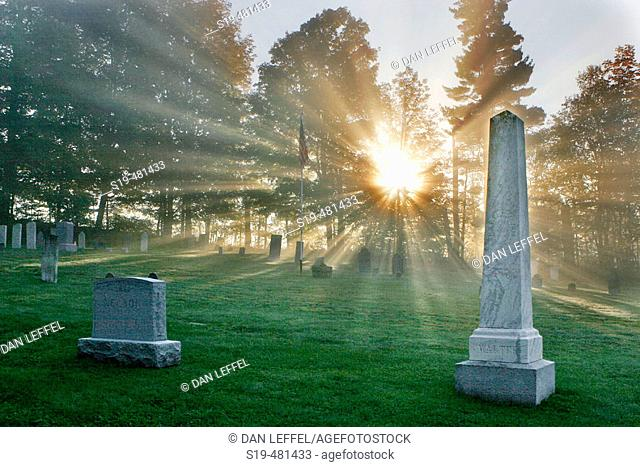 Cemetery, Vermont, USA