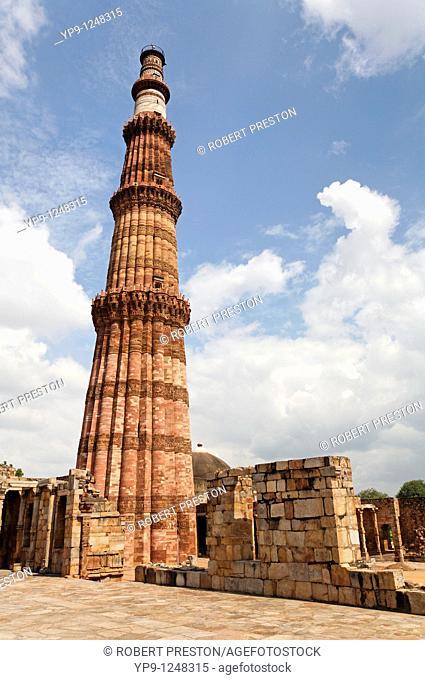 The Qutb Minar complex, Greater Delhi, India