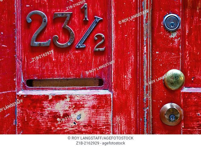 A unique address in Chinatown, Victoria, British Columbia, Canada