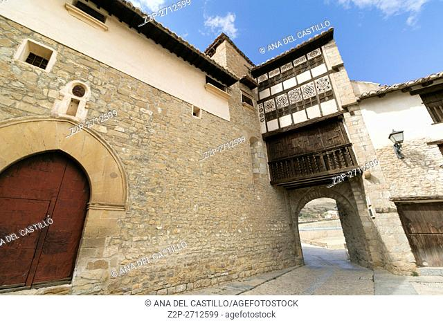 Mirambel is one of the most beautiful villages in Spain. The old convent