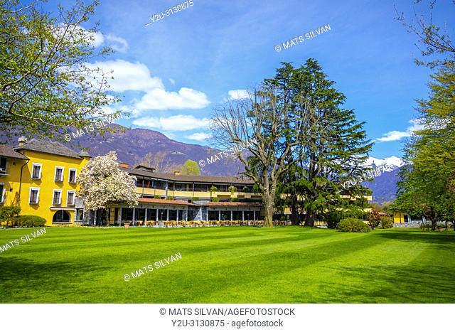 Five Stars Hotel Castello del Sole in Ascona, Switzerland
