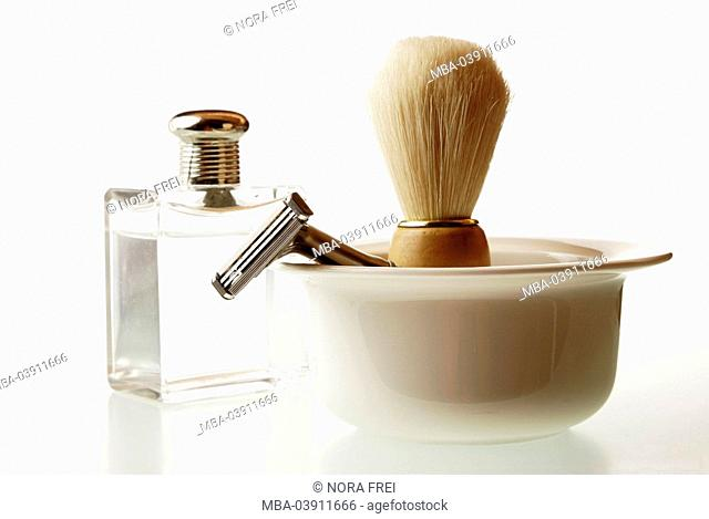Shaving-articles, peel, shaving brush, wet-shavers, aftershave, series, cosmetics-articles, brushing, shavers, shave, wet-shave, face-care, cosmetics, body-care