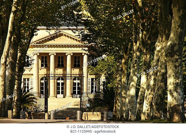 Château Margaux wine estate, Medoc, Bordeaux wine region, Gironde, Aquitaine, France