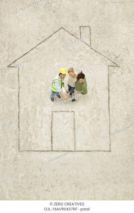 Planning of a house