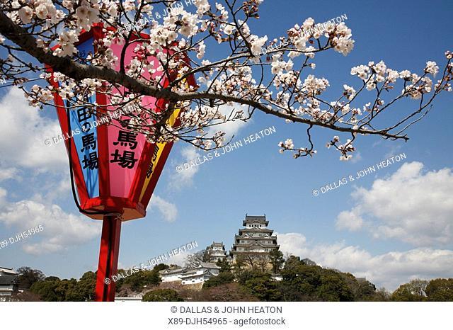 Japan, Honshu, Hyogo, Himeji Castle