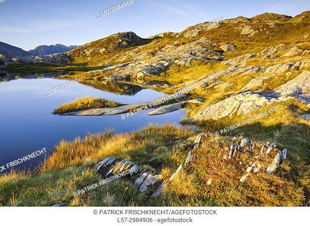 view from Grimselpass, Switzerland