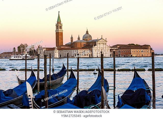 Chiesa di San Giorgio Maggiore, Venice, Veneto, Italy, Europe