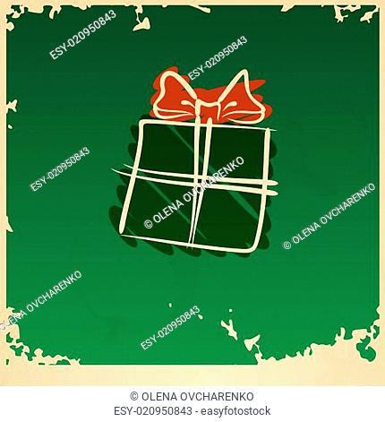 Christmas Vintage Gift Box