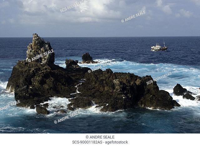 Nordeste Islet, St Peter and St Paul's rocks, Brazil, Atlantic Ocean