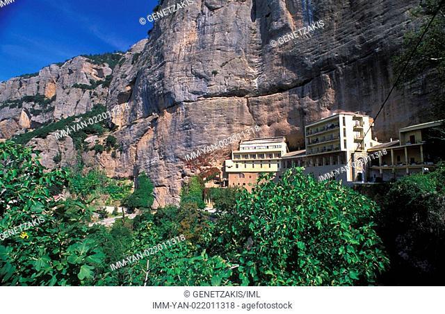 Monastery of Mega Spileon , Kalavryta, Achaia, Peloponnese, Greece