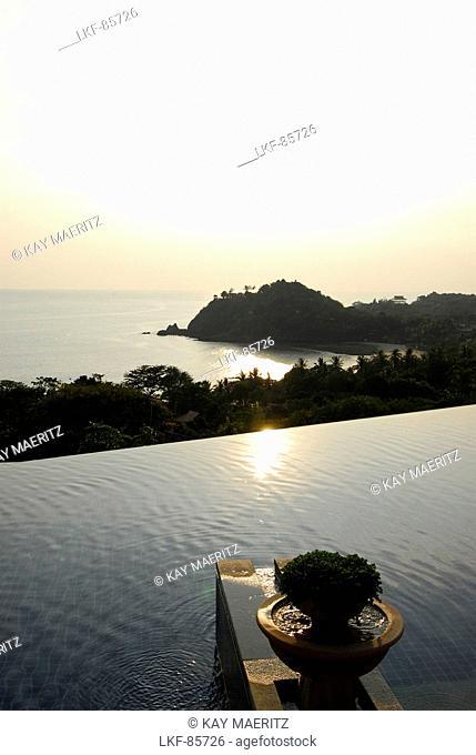 Evening view to the sea, Hotel Pimalai, Ao Kantiang, Ko Lanta, Krabi, Thailand