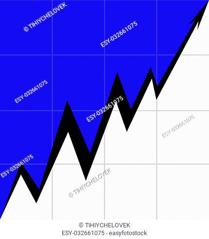 Up Arrow stylized Estonian flag Mesh economy