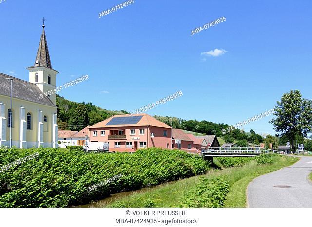 Unterrabnitz-Schwendgraben, church in Schwendgraben, Mittelburgenland, Burgenland, Austria