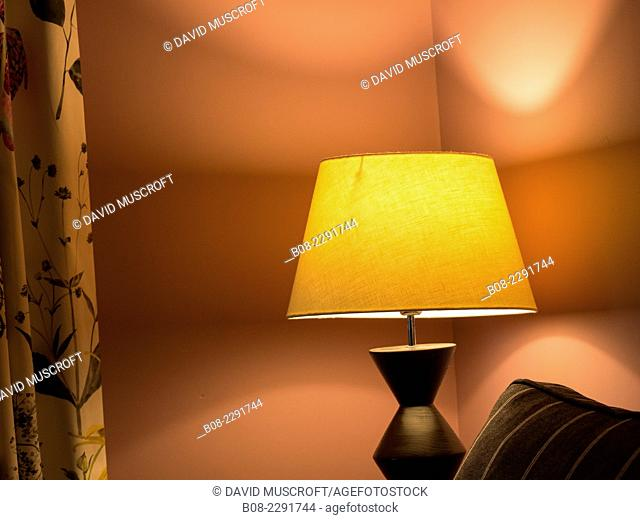 lamp,traditional english house interior