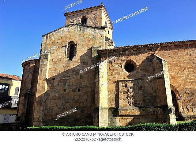 Romanesque church of San Juan de Rabanera, XIIth century. Soria, Spain