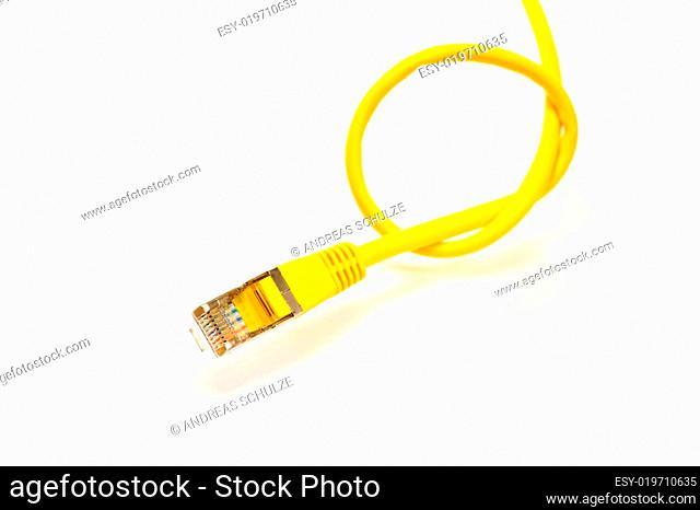 Knoten im Datenkabel
