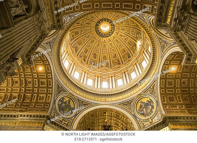 Saint Peter's Basilica, Vatican City, Rome, Italy