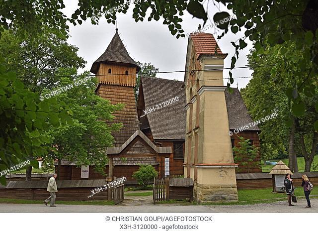 St. Michael Archangel's Church in Binarowa, Malopolska Province (Lesser Poland), Poland, Central Europe