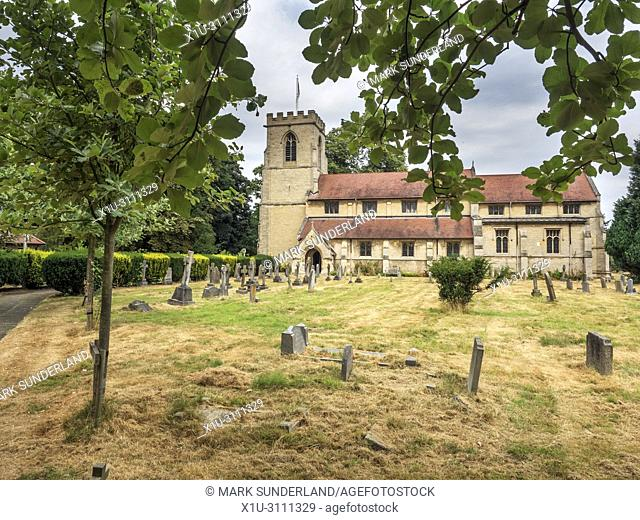 St ANdrews Church in Bishopthorpe near York Yorkshire England