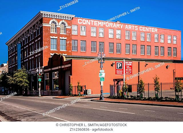 The Contemporary Arts Center in the Warehouse/Arts district of New Orleans LA