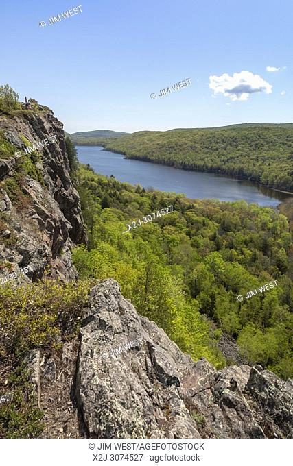 Ontonagon, Michigan - Lake of the Clouds in Porcupine Mountains Wilderness State Park