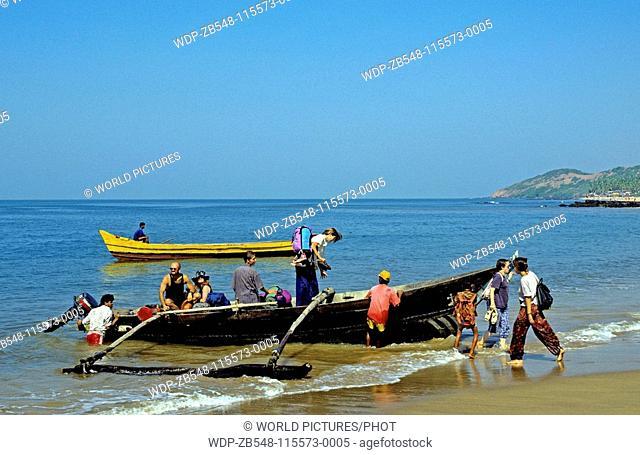 Anjuna Beach, Goa State, India Date: 15/06/2008 Ref: ZB548-115573-0005 COMPULSORY CREDIT: World Pictures/Photoshot