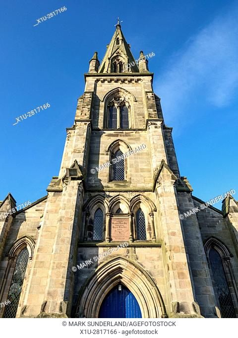 Falkland Parish Church in the Village of Falkland Fife Scotland