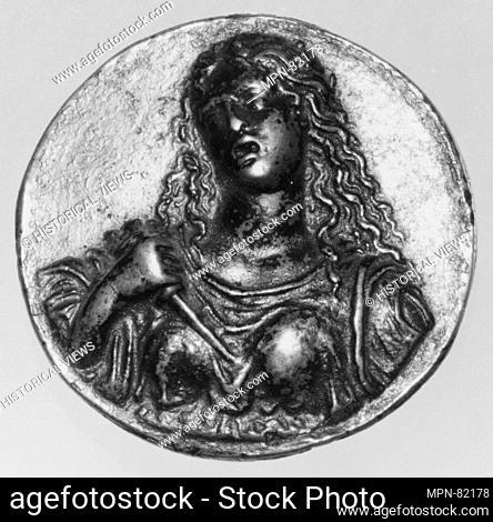 The Death of Lucretia. Artist: Moderno (Galeazzo Mondella) (Italian, Verona 1467-1528 Verona); Date: early 16th century; Culture: Italian