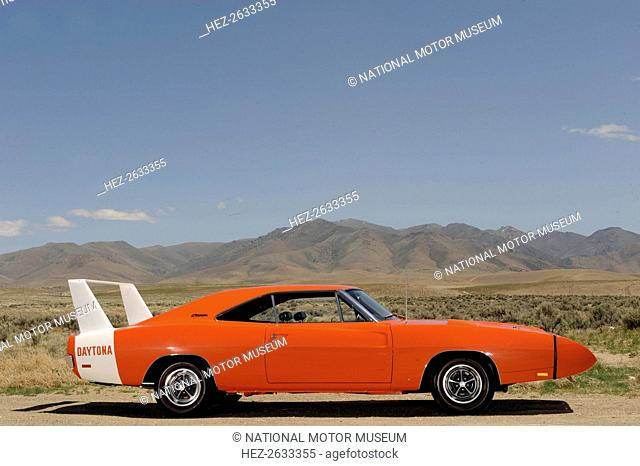 Dodge Charger Daytona 440 1969. Artist: Simon Clay
