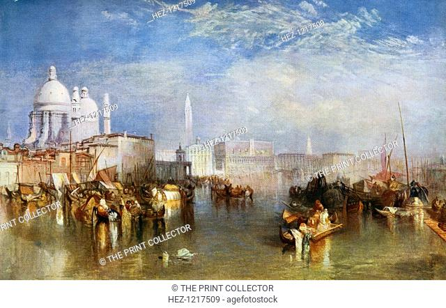 'Venice', 1840, (1912). A colour print from Famous Paintings, with an introduction by Gilbert Chesterton, Cassell and Company, (London, New York, Toronto, 1912)