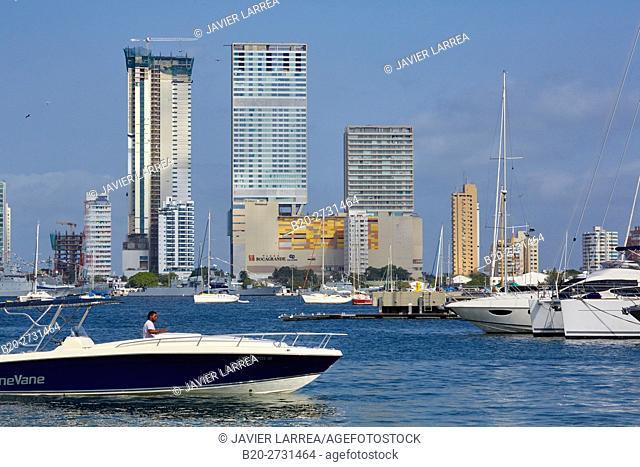 Bahia de Las Animas, Bocagrande, Cartagena de Indias, Bolivar, Colombia