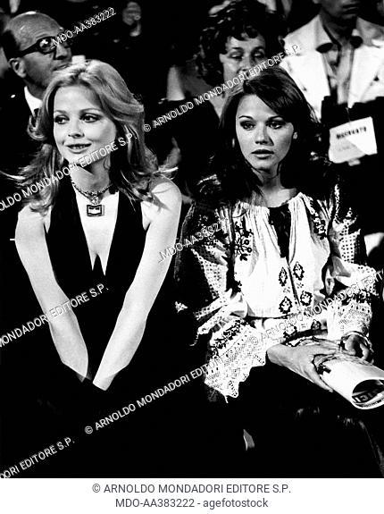 Agostina Belli and Stefania Spugnini in Ante Up. Italian actress ...