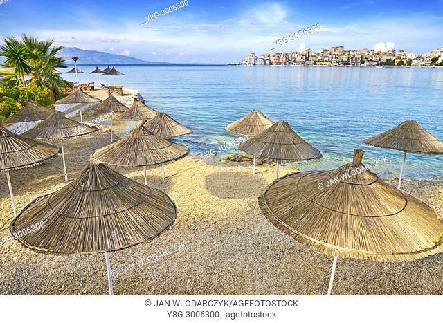 Albania - Sarande (Saranda) resort beach