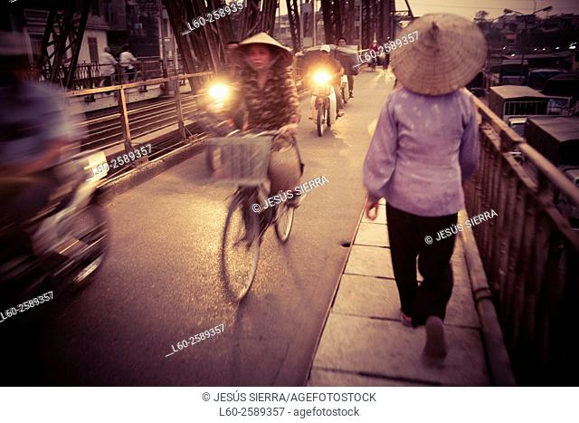 People in Hanoi. Vietnam