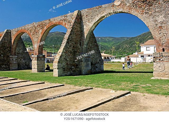 Aqueduct of The Arches, Algeciras, Cadiz-province, Spain