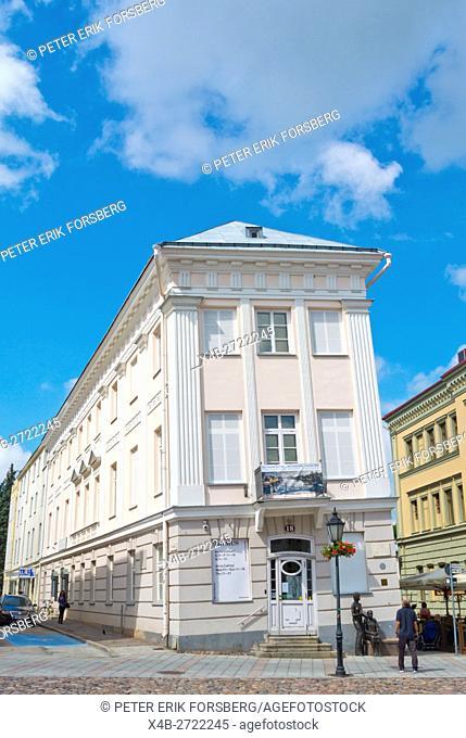 Tartu Kunstimuuseum, Tarto art museum, Raekoja plats, main square, Tarto, Estonia, Baltic States, Europe