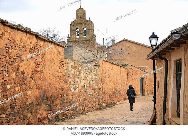 Castrillo de los Polvazares, Leon, Camino de Santiago, Pilgrimage to Santiago, Santaigo Way, Castilla y Leon, Sapain, Europe