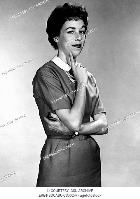 Carol Burnett, 1959. Courtesy: CSU Archives/Everett Collection