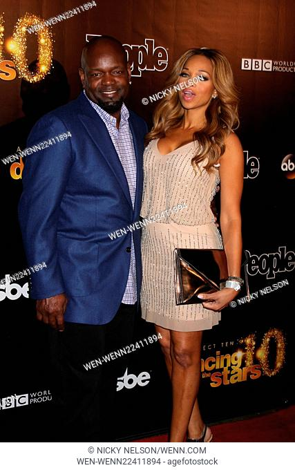 Dancing with the Stars 10 Year Anniversary Party Featuring: Emmit Smith Where: West Hollywood, California, United States When: 22 Apr 2015 Credit: Nicky...