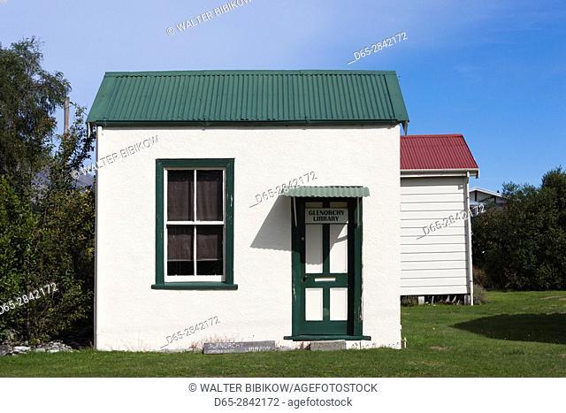 New Zealand, South Island, Otago, Glenorchy, Glenorchy Library