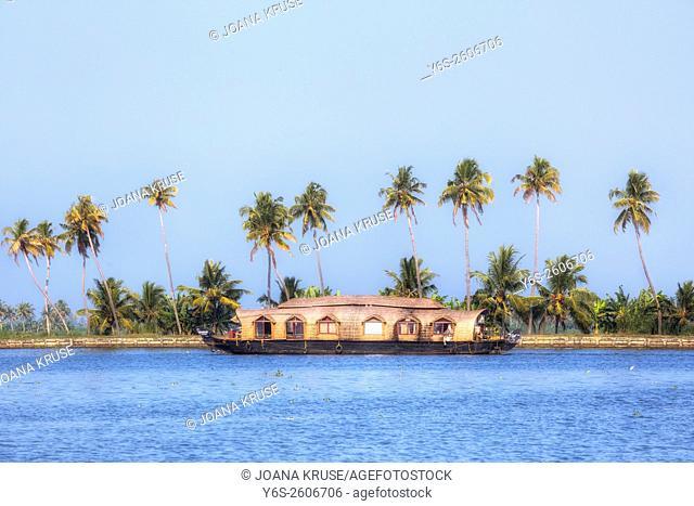 Alappuzha, Backwaters, Kerala, South India, Asia
