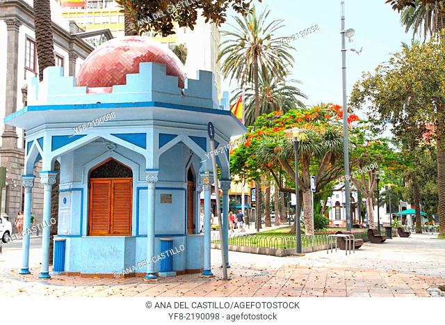 Telmo park Canarian architecture in Las Palmas Grand Canary Spain