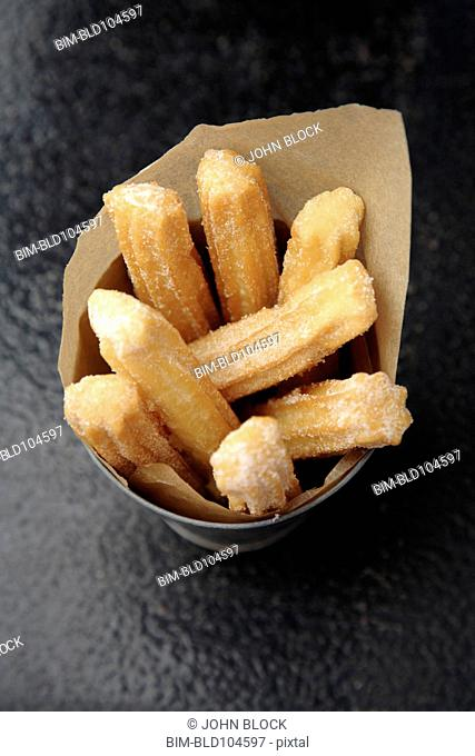 Churros in cup